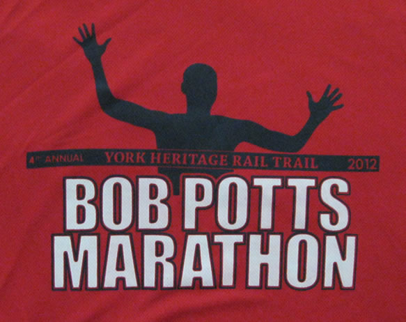 Bob Potts race shirt