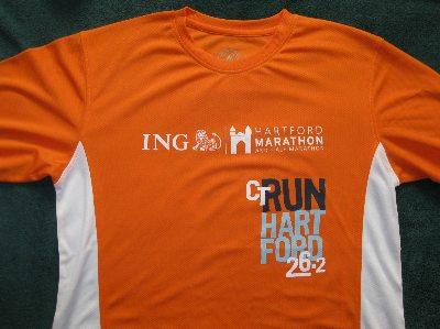 Hartford Marathon race shirt