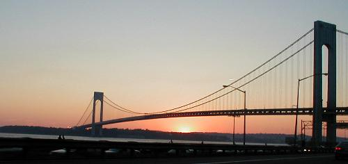 Verrazano-Narrows Bridge - taken by Ray in 2002