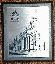 finisher plaque