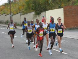leading pack
