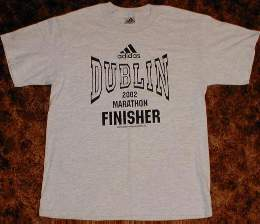 Dublin Marathon Finisher T-shirt