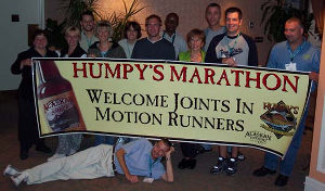 Humpy's banner - compliments of Dana