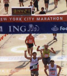 Ray finishes NYC Marathon