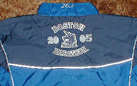 2005 Boston Marathon jacket