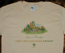 TCM 2005 Finisher T-shirt