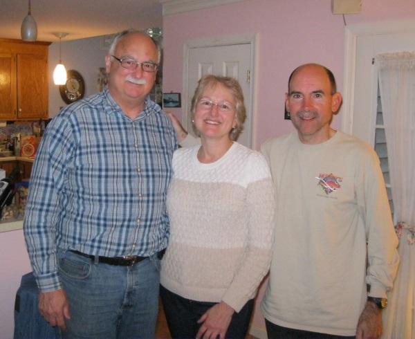 Cousins Eric, Kathy, Ray