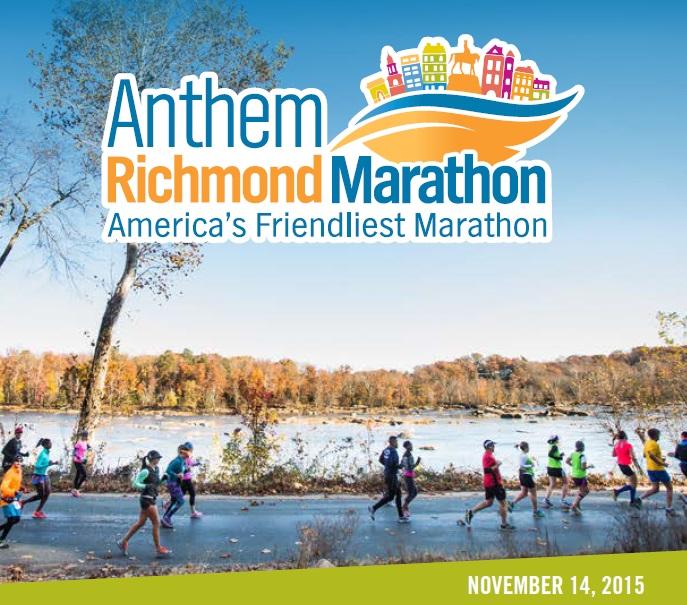 2015 Richmond Marathon