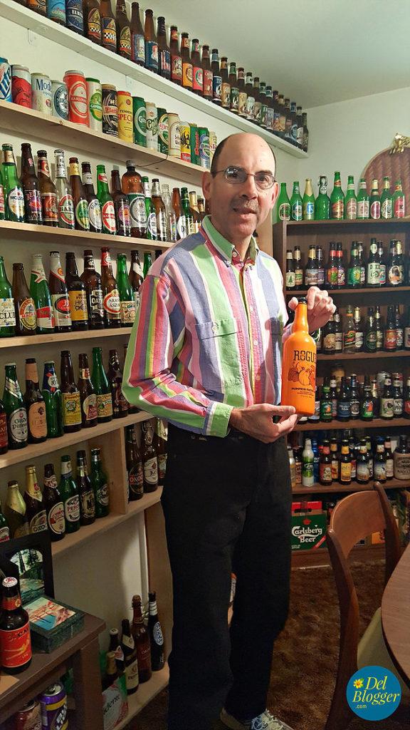Marathon Man in the Beer Room