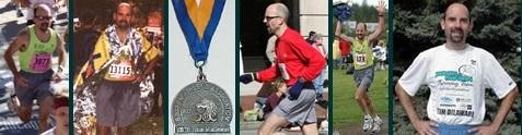 Running marathon races