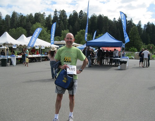 Marathon packet pickup