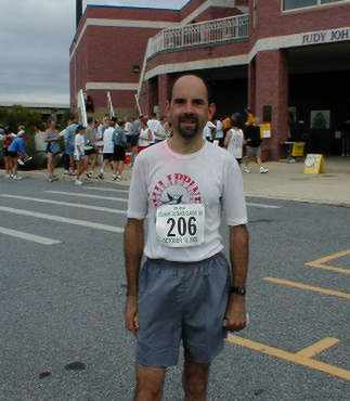 Marathon Man at 15K in Wilmington