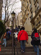 more steps to Sacre Coeur