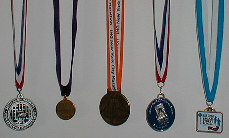 Ray's medals