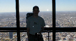 John at Sears Tower