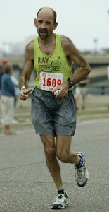 Marathon Man is determined