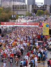 Twin Cities Marathon start