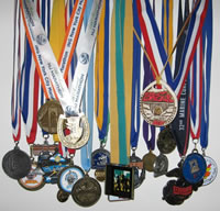 Finisher Medals