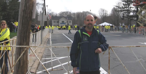 Marathon Man at Hopkinton
