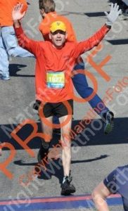 Marathon Man Ray runs