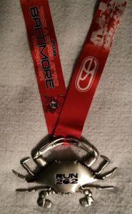 Baltimore Marathon Finisher Medal