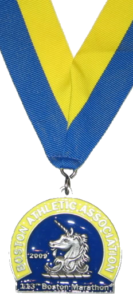 Boston Marathon finisher medal